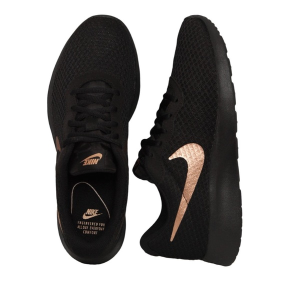 really cheap various design so cheap NIKE Tanjun Runner Racer Sneakers bronze rose gold